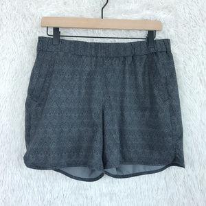 Eddie Bauer | Printed Athletic Shorts Sz Medium